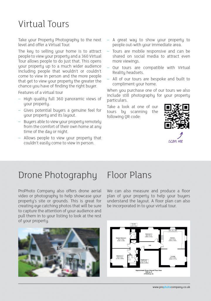ProPhoto Company Services Leaflet